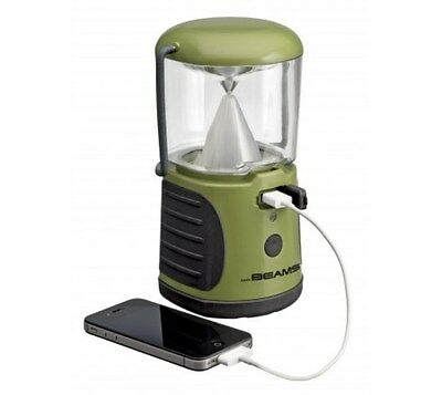 Mr Beams MB470 UltraBright LED Lantern with USB Charger 260 Lumens Auto Shut off