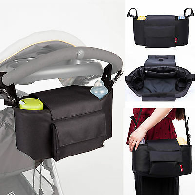 Allis 2 in 1 Buggy Organiser Pushchair Nappy Bag Large Size