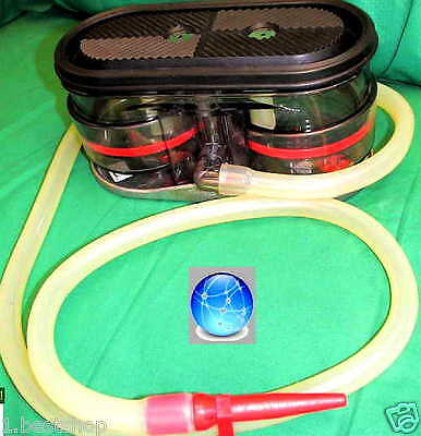 AMBU TWIN PUMPE TWINPUMP ABSAUGPUMPE NOTFALL EMERGENCY SUCTION PUMP 1.Hilfe BW Y