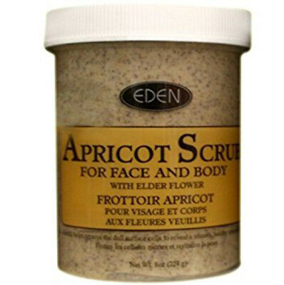 Eden Apricot Scrub For Face And Body For Remove Blackheads & Impurities 227G
