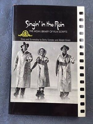 Singin' In The Rain. First Edition Inscribed By Director & Cast Members