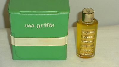 Ma Griffe Bath Oil 1/2 Fl. Oz. Carven Full & Plastic Case
