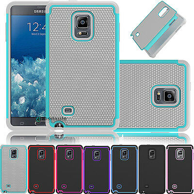 New Hybrid Rugged Rubber Hard Shockproof Cover Case for Samsung Galaxy Note Edge