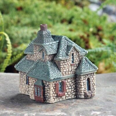 Miniature Dollhouse FAIRY GARDEN - Micro Mini Gables Cottage - Accessories