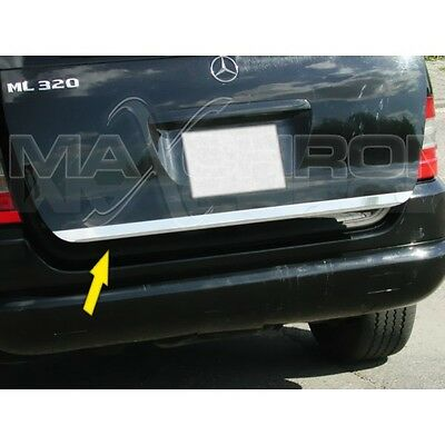 Mercedes (W163) Ml  H/b  Annee 97-05  Baguette De Coffre Chrome