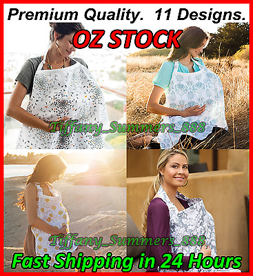 3 in 1 Baby Breastfeeding Nursing Cover Maternity 100% Cotton Generous 100x70 cm