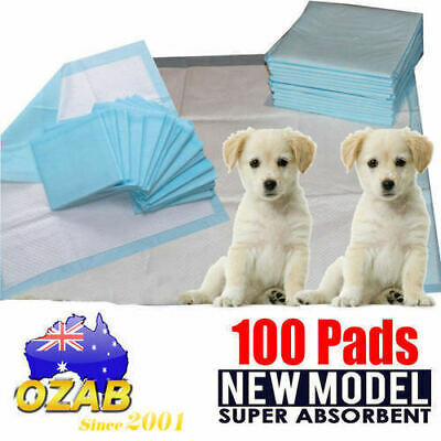 100pcs New 60x60cm Puppy Pet Dog Indoor Cat Toilet Training Pads Super Absorbent