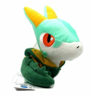 "Pokemon Best Wishes Black And White Chibi Plush - 47343 - 7"" Jalorda/Serperior"