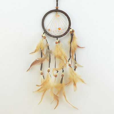 Wholesale Handmade Hanging DIY Feather Dream Catcher Decor Car Or Wall Ornament