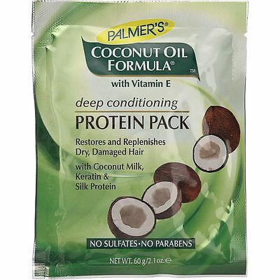 Palmers Coconut Oil Formula Deep Conditioning Protein Pack 60g