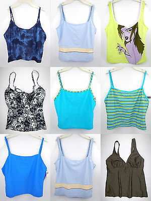 Tankini Top Ladies Swimsuit Tank Beachwear Bathing Suit Bikini swimwear S M L