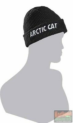 Arctic Cat Adult Watchman Beanie / Hat - OSFM - Black with Camo Lining 5253-162