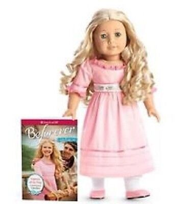 """American Girl Doll Caroline A Beforever  Doll New In Box  With Book 18"""""""