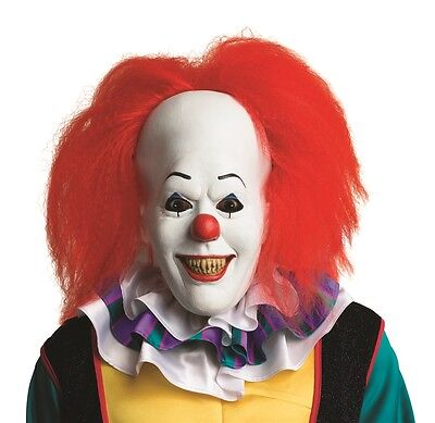 PENNYWISE the Clown Overhead Latex Mask HALLOWEEN HORROR