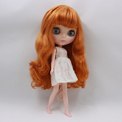 """Takara 12"""" Neo Blythe CURLY Hair Nude Doll from Factory TBY140"""