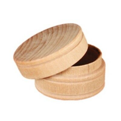 SMALL WOOD PILL ~ RING BOX ~ Ready To Paint  ~ Lot of 2 or 10 ~ by PLD