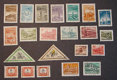 Hungary Stamps Lot Collection Mixed used NG