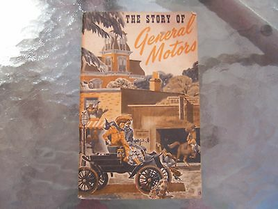 """VINTAGE """"THE STORY OF GENERAL MOTORS"""" SMALL BOOK 1949"""
