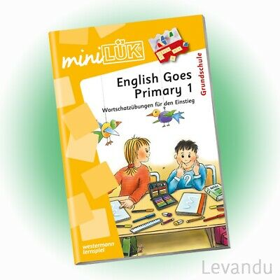 WESTERMANN mini LÜK Heft - English Goes Primary 1 | Englisch (462) - NEU