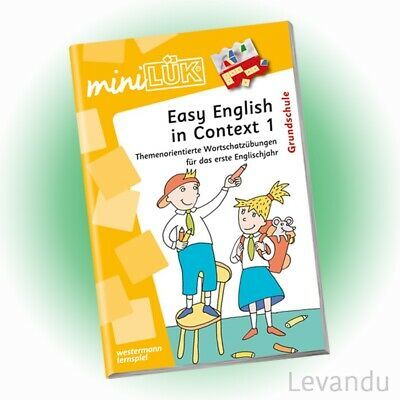 WESTERMANN mini LÜK Heft - Easy English in Context 1 | Englisch (464) - NEU