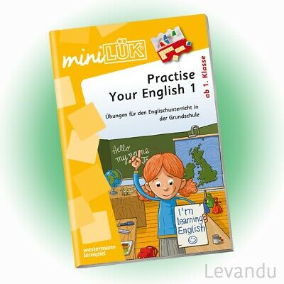 WESTERMANN mini LÜK Heft - Practise Your English 1 | Englisch (486) - NEU
