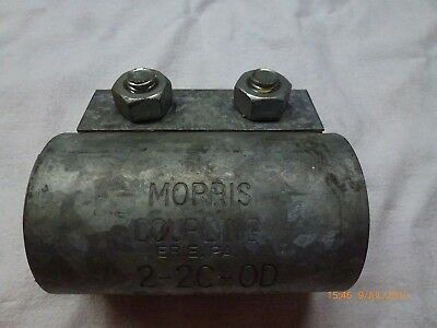 Morris Coupling 2-2C-OD galvanised steel 50.8MMOD - New