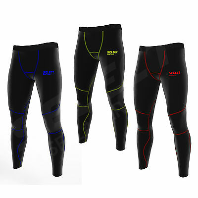 Select Mens Compression Super Roubaix Thermal Base Layer Leggings
