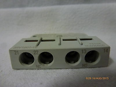 Siemens 3RV1901-1E Auxiliary Contact Block 5A 250V New