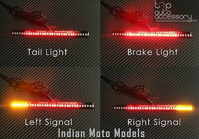 33-SMD LED Bar Brake Tail Light & Left/Right Turn Signal Lamp for Indian Moto