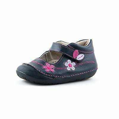 Baby Toddler Girl Leather Shoes | Wobbly Waddlers POPPY | arch support shoes