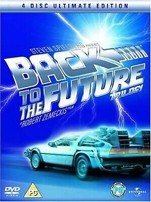 Back To The Future Trilogy [4 Disc Ultimate Edition] DVD Michael New and Sealed