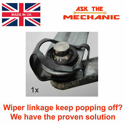 The Original & Proven Windscreen Wiper Motor Linkage Repair Clip Fiat Punto 188