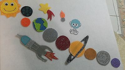 Felt Board Story Rhyme Teacher Resource- Solar System And Space