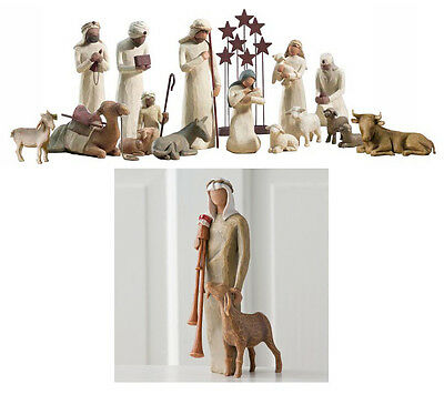 Demdaco Willow Tree 17 pc nativity set         NEW IN BOXES