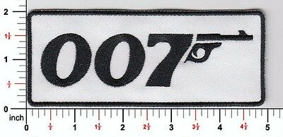 James Bond 007 Embroidered Patch