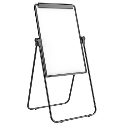 24 x 36'' Magnetic Whiteboard Double-Sided Dry Erase Easel Stand 360° Rotating