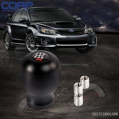 For JDM Subaru WRX Impreza STi 5MT Shift Knob Legacy GDA GDB GC8 BLACK