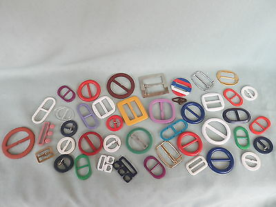 BELT BUCKLES   Multi Colour   BULK LOT  39 Plus  SOME LARGE   VINTAGE