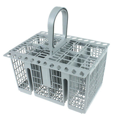 8 Compartment Cutlery Basket + Handle for Indesit Dishwasher Grey DFG2635 DIFP48
