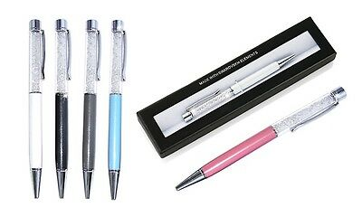 Crystals from Swarovski® Filled Crystal Pen in Various Colour with Gift Box
