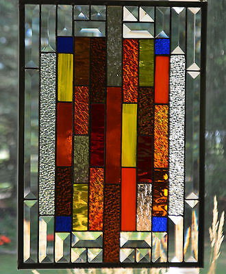 Stained Glass, Bevels And Colored Glass