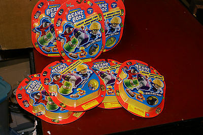 Mighty Beanz Beans Wacky Bodies Beans N Bods 8-pack Series 1 LOT OF 7 NEW