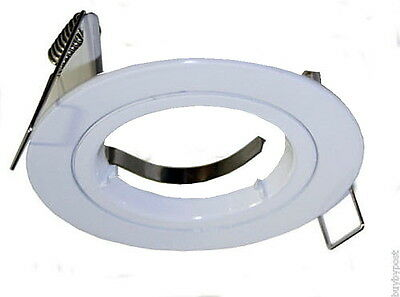 Down light Ceiling Surround Replacement For Use With GU10 Bulbs Caravan Camper