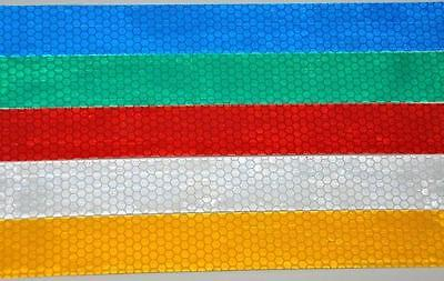3M YELLOW CONSPICUITY REFLECTIVE TAPE 25mm x 10' Roll
