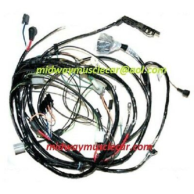 front end forward lamp light wiring harness 68 Chevy Corvette  1968