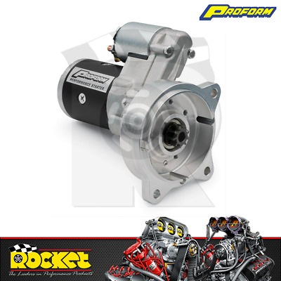 Proform Hi-Torque Starter Motor Small/Big Block Ford 1.9HP Manual - PR66271