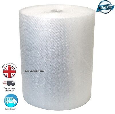 "100m Small Bubble Wrap 500mm 20"" - FAST POSTAGE QUALITY removals storage post"