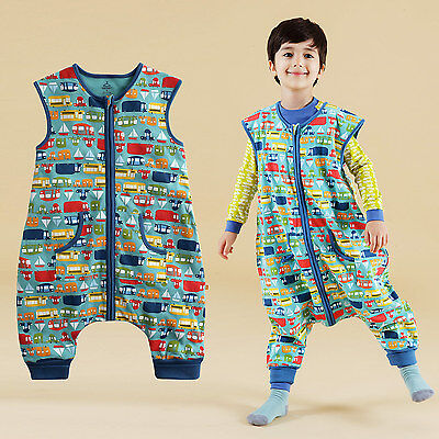 "NWT Vaenait Baby Boys Girls Clothes Kids Cotton Sleepsack ""Sleep travel "" 1T-7T"