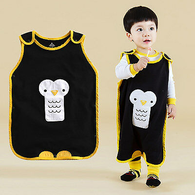 "NWT Vaenait Baby Boys Girls Clothes Kids Cotton Sleepsack ""Sleep pingu"" 1T-7T"