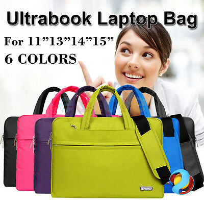 "Ultrabook Sleeve Carry Case Cover for Dell Macbook Pro Air 11""13"" 15"" Laptop Bag"